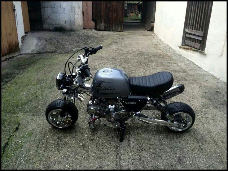 Monkey Gorilla. Retro BikesMini ...