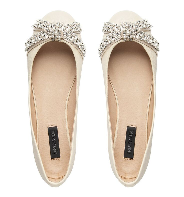 I love flats! I could possibly wear these instead of heels. The shoes must be a pretty dark blue color.