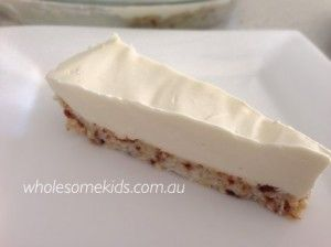 Lemon cheesecake (grain free, egg free)