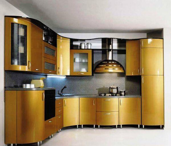 Meer dan 1000 idee n over gouden keuken op pinterest keuken kast handgrepen meubelbeslag en - Idee deco keuken grijs ...