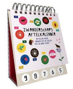 Zwangerschaps aftelkalender voor de grotere broer of zus, Leuk & spannend. -Hippe Kamer enZo-Kinderwinkel