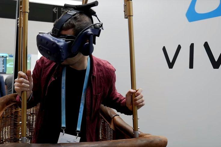 ICYMI: De volar en globo aerostático a matar zombies en multijugador: probamos las HTC Vive Pro