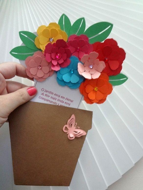 Открытка для мамы из бумаги на день матери