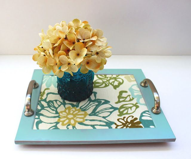 Delightfully Noted: DIY Picture Frame Tray
