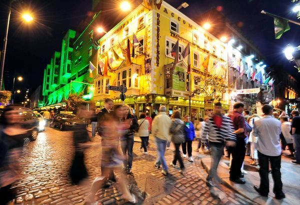St. Patricks Day....Dublin, Ireland. Shatty and I had a blast on this trip back in the day!