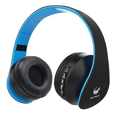 Old Shark Foldable Bluetooth Over-ear Headphone for Kids, On-ear Wireless for