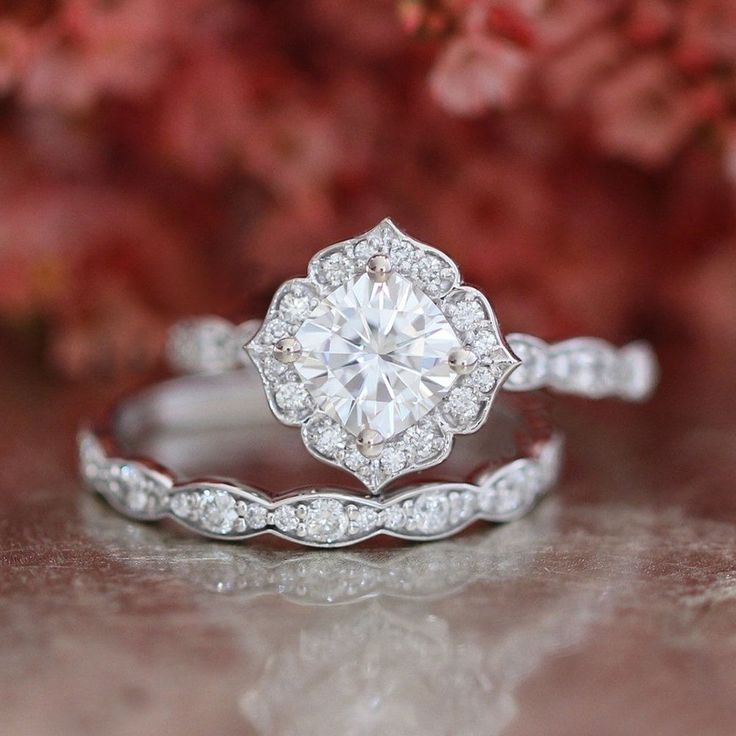 1.90 Ct Oval Cut Diamond 14k Real White Gold Wedding Engagement Bridal Ring Set | Jewelry & Watches, Engagement & Wedding, Engagement/Wedding Ring Sets | eBay!