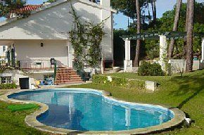 Detached+Villa+With+Private+Pool+Overlooking+Obidos+Lagoon+and+Atlantic+beach+++Holiday Rental in Foz Do Arelho from @HomeAwayUK #holiday #rental #travel #homeaway