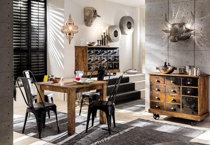 kleiner esstisch goa vintage style m bel m bel tisch und esstisch. Black Bedroom Furniture Sets. Home Design Ideas