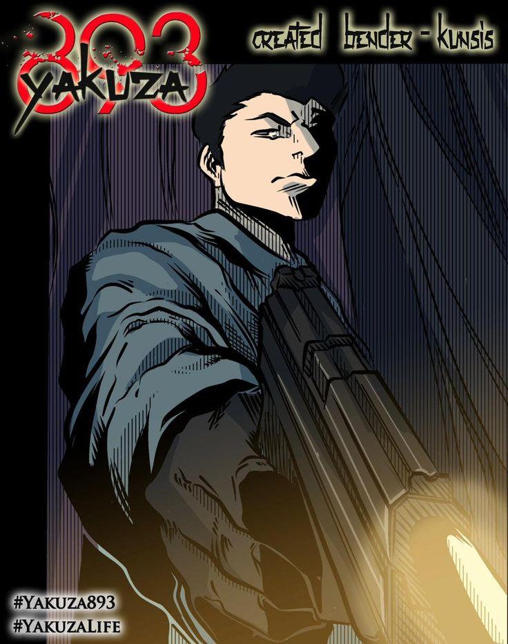 #Yakuza893 comic book miniseries coming soon!    From #Artist @edakunsis and myself.