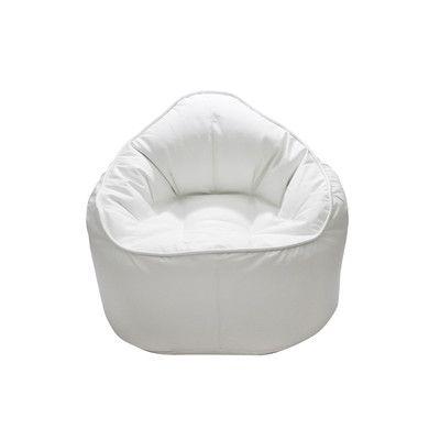 The Giant Pod Bean Bag Chair Upholstery: White - http://delanico.com/bean-bag-chairs/the-giant-pod-bean-bag-chair-upholstery-white-736265575/