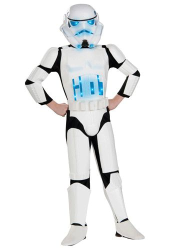Child Light Up Stormtrooper Costume