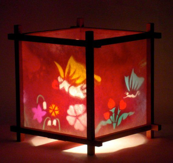 Hearts Flowers Harmony Lantern Mother S Day Gift Anniversary Gift Spinning Lamp Lanterns Paper Lanterns