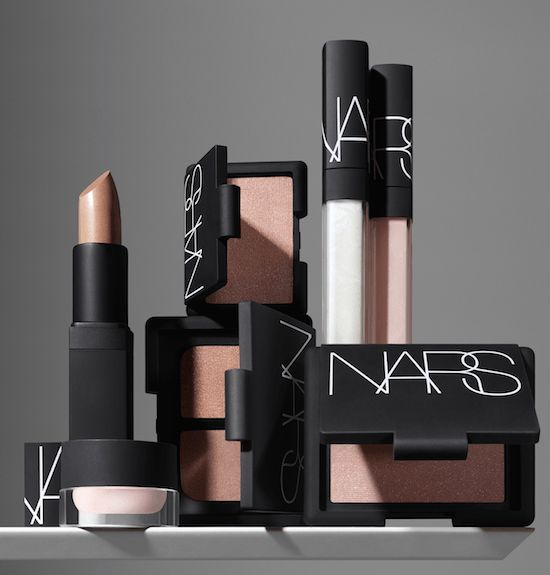 "NARS Nude Scene Spring 2017 Makeup Collection-NARS sets the stage for a spring makeup look that is a barely-there take on neutrals. Tone on tone on tone of beautiful, understated colors for eyes, cheeks and lips. The ""no makeup, nudeR…"