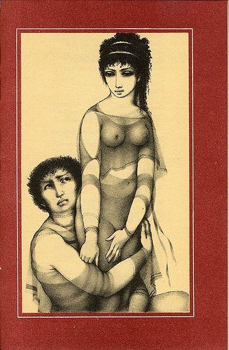 Lysistrate, illustrated by Ludmila Jiřincová.