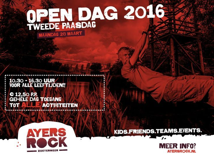 Er is 2e paasdag weer een open dag bij Ayers Rock. Wil jij weten wat er allemaal te doen is bij Ayers Rock, neem dan een kijkje op 28 maart.