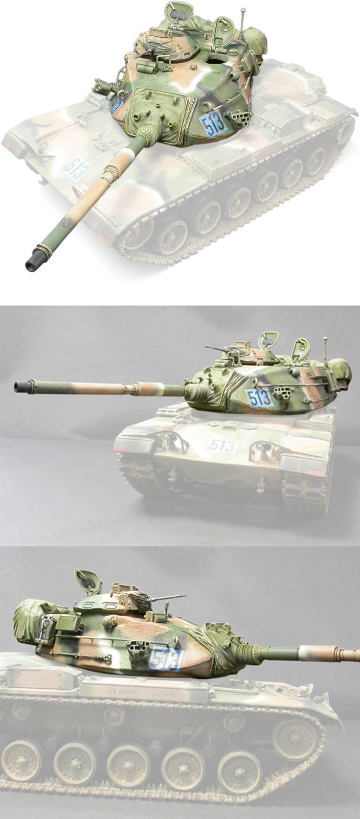 1/35 resincast model U.S. M60A1/M60A3 Turret (for Academy, Tamiya, ESCI)