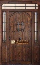 puerta de entrada rústica medieval árabe