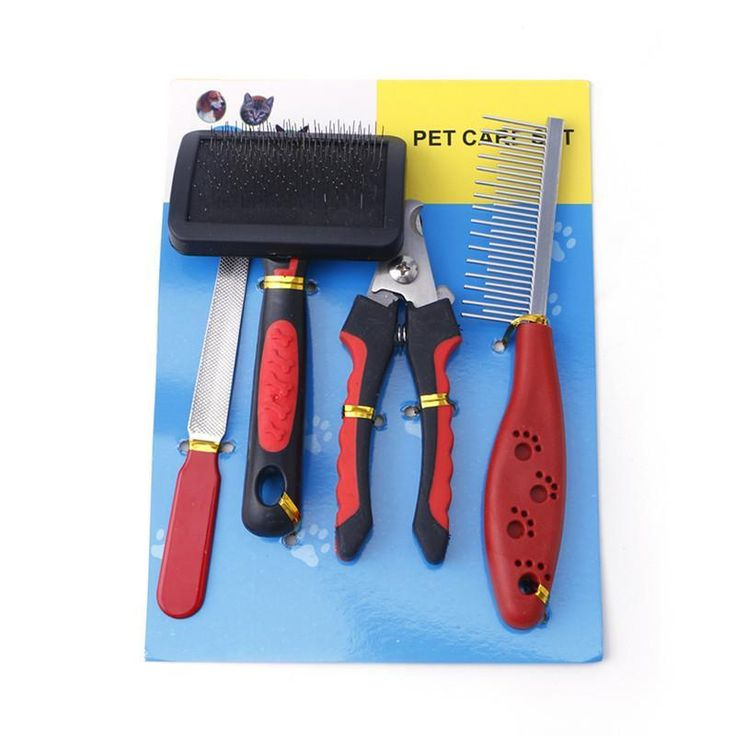 Stainless Steel Nail Clippers Kit Care Dog and Cat Grooming Supplies