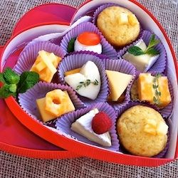 Cheese lover's valentine