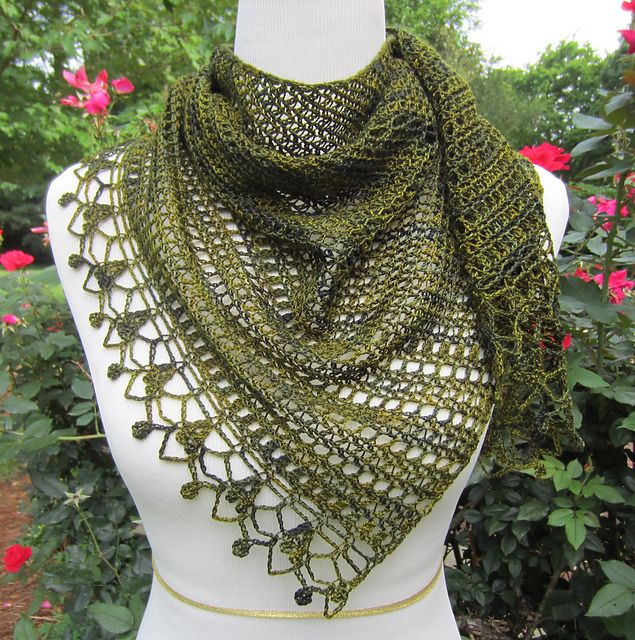 [Free Pattern] Gorgeous Light, Asymmetrical Wrap Which Can Also Be Worn As A Scarf - http://www.dailycrochet.com/free-pattern-gorgeous-light-asymmetrical-wrap-which-can-also-be-worn-as-a-scarf/
