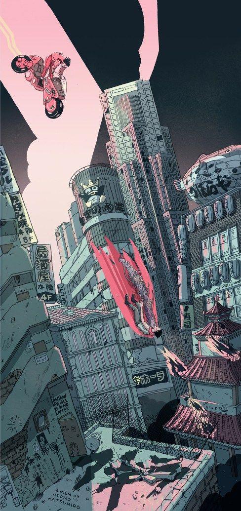 Mad Max Fury Road et Akira par Shian – Geek Art – Art, Design, Illustration & Pop Culture !