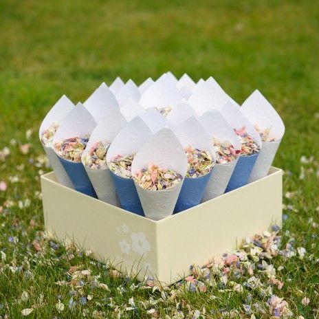 Fields Of Ideas Biodegradable Confetti Natural Petal Rose Petals Wedding Dried Flowers
