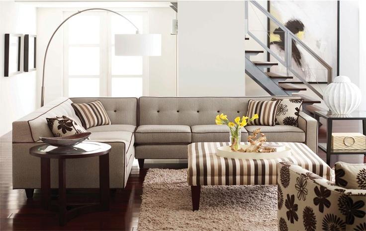 Bennet Sofa by Rowe Furniture  Bondars in Calgary