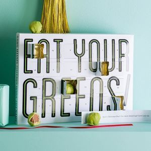 Eat Your Greens Chocolate Sprouts Advent Calendar. Pick a delightfully different advent calendar this Christmas to celebrate the coolest countdown of the year.