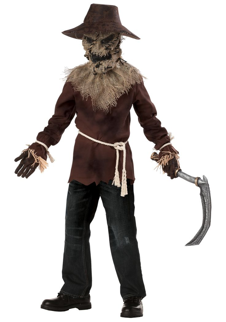 zombie costume ideas for boys scarecrow halloween costume - Free Halloween Costume Catalogs