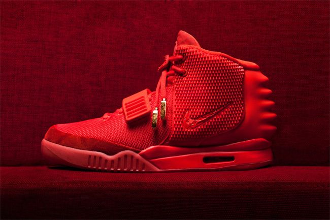air yeezy red october - Google Search