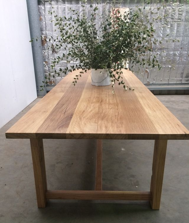 Love the Wood and Finish  Farmhouse Table by Rabbit Trap Timber - Table, Rustic Table, Recycled Timber Table, Dining Table, Handcrafted Table