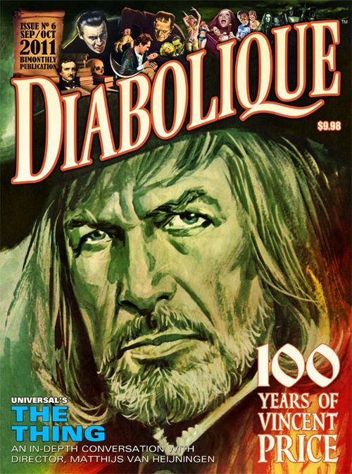 Diabolique Magazine #6, September/October 2011