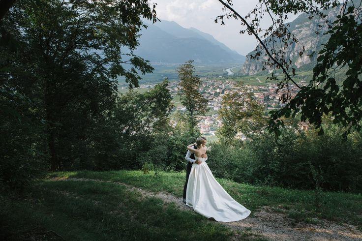 Federica & Nicola ♥ Trento Castel Pietra | Andrea & Natalia Fotografi di Matrimoni