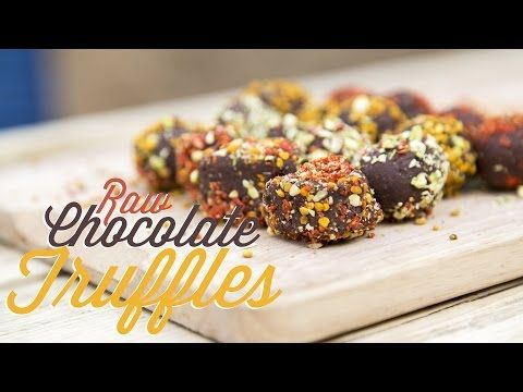 ▶ Valentines day - Raw Chocolate Truffles - Super tasty and easy to make :) - YouTube