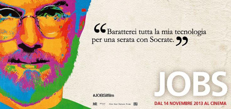 Steve Jobs avrebbe scelto Socrate. Voi, invece, scambiereste ciò che vi è più caro per una serata con...? #JOBSilfilm