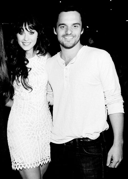 Zooey and Jake Johnson