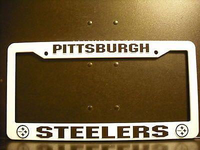 Pittsburgh Steelers License Plate Cover Frame NEW!! Troy Polamalu Roethlisberger