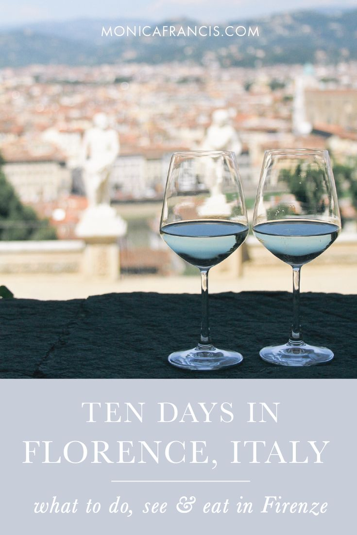 Travel Guide: Ten Days in Florence, Italy | Things to Do in Florence: my must-see spots and favorite foods & restaurants in Tuscany's capital city. | How to spend a week (plus!) in Florence and Tuscany, with day trips and a custom travel map. | The best free things to do in Florence, and the paid attractions that are worth the cost. | What to Do, See, and Eat in Firenze | Favorite Aperitivo Spots in Florence, Italy | The best views in Florence.