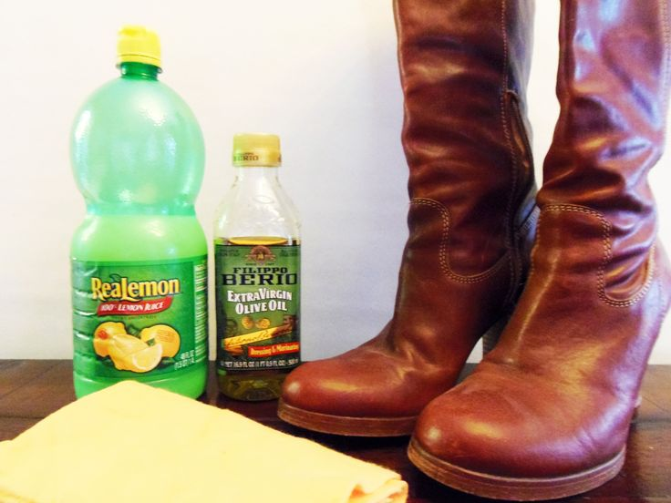 This homemade shoe polish is just as good as anything you could buy, and it's completely free of chemicals.