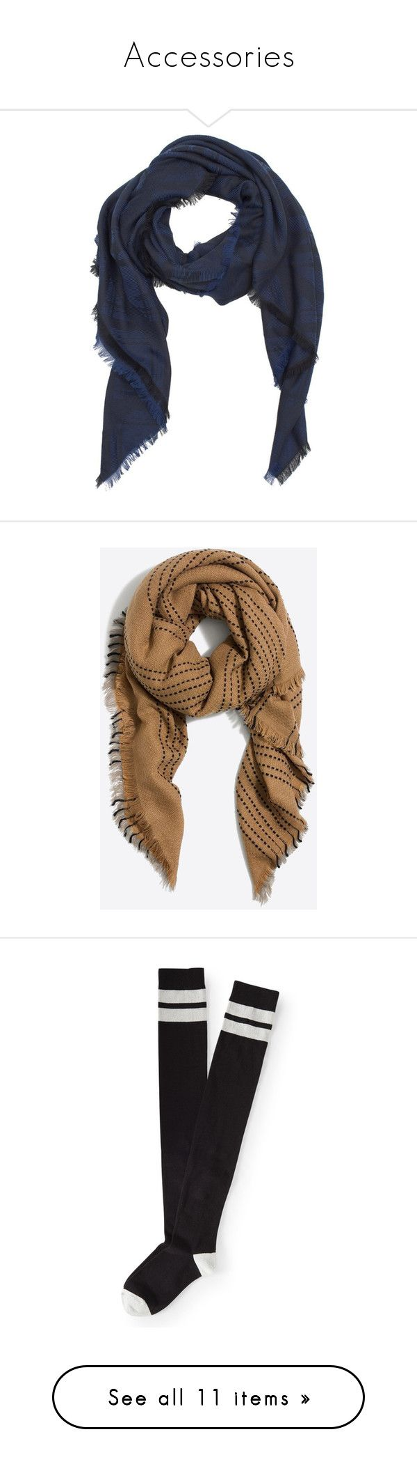 """""""Accessories"""" by clawsandclothes ❤ liked on Polyvore featuring casual, TeenWolf, inspiration, accessories, scarves, blue, blue shawl, cotton scarves, blue scarves and kenzo scarves"""