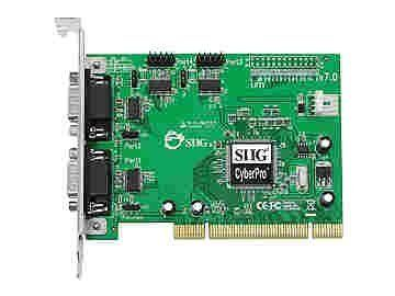 NEW - NETWORK ADAPTER - PLUG-IN CARD - PCI;SERIAL RS-232 - JJ-P45012-S7 by SIIG. $64.70. Network adapter - Plug-in card - PCI;Serial RS-232 Networking Type Network adapter Form Factor Plug-in card Networking Interface PCI; Serial RS-232 Data Transfer Rate Data Link Protocol Serial Connectivity Technology Wired Features Will work as standard RS232 port or with 5V or 12V power output for devices that require power (such as handheld scanners, table scanners, POS displays, etc.). Con...