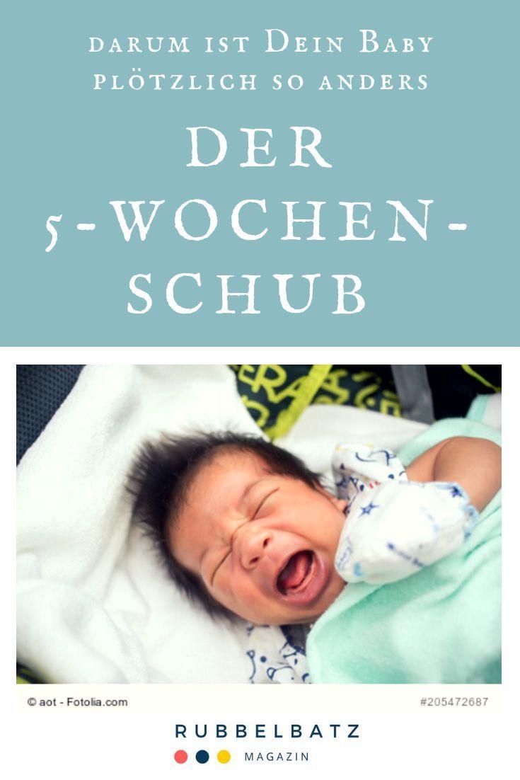 5 Wochen Schub Symptome Dauer Fahigkeiten Schlaf Baby