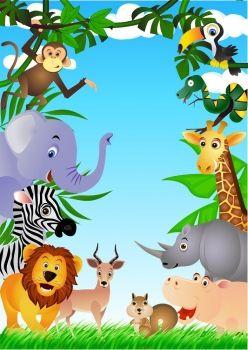 Resultado de imagen para fondo safari infantil