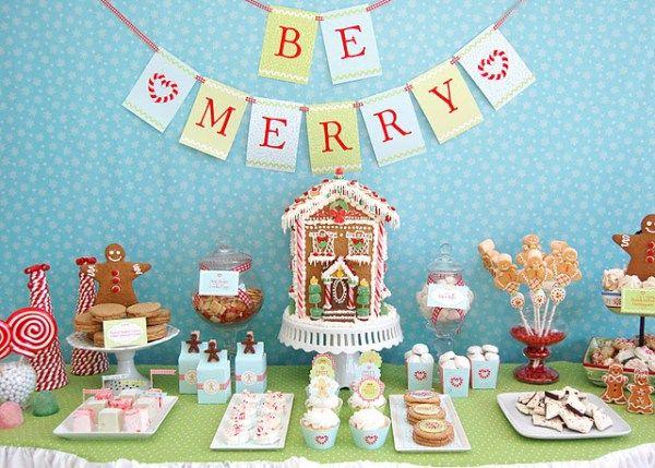 Mesas dulces navideñas