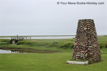 This is Michael's Landing not far from Judique along the Ceilidh Trail in Cape Breton, Nova Scotia.  Michael's Landing is part of the Celtic Shores Coastal Trail which is a 94-km multi-purpose trail along the western coastline of Cape Breton.