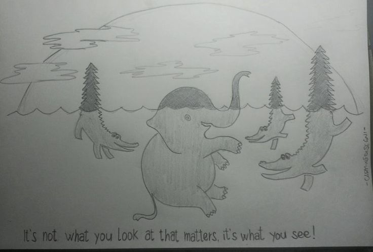 It's not what you look at that matters, it's what you see! #CarmineArts
