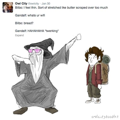 How the Hobbit should NOT go. Still hilarious though.