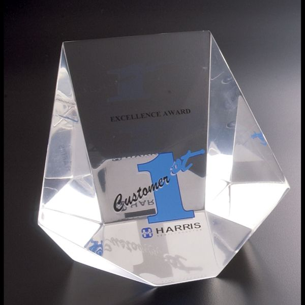 China Factory Custom Lucite Paperweight Transparent Acrylic     Acrylic Display