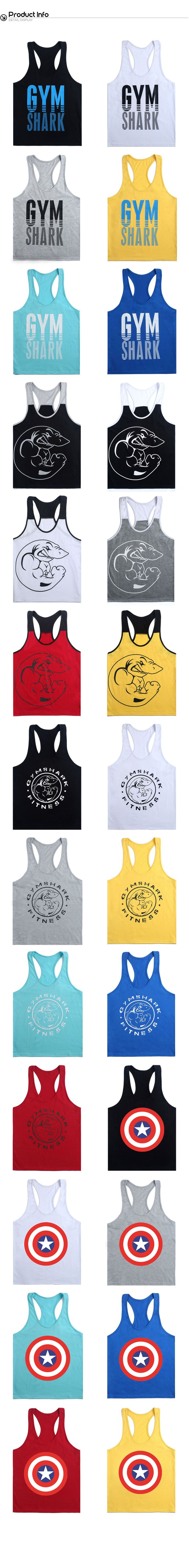 CIC collection Men's Letter Printed Workot Fitness Gym Tank Top